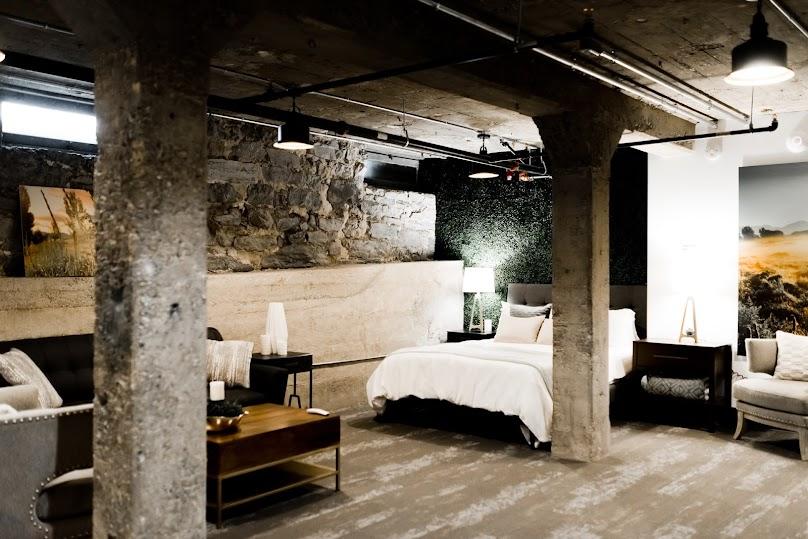 Wygodne łóżko na poddaszu