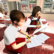 Virtual Classroom Cheating Sim: High School Games