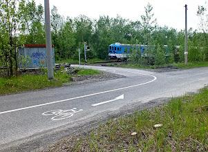 Photo: Železniční přejezd na cyklotrase č. 59 mezi Vratimovem a Paskovem.