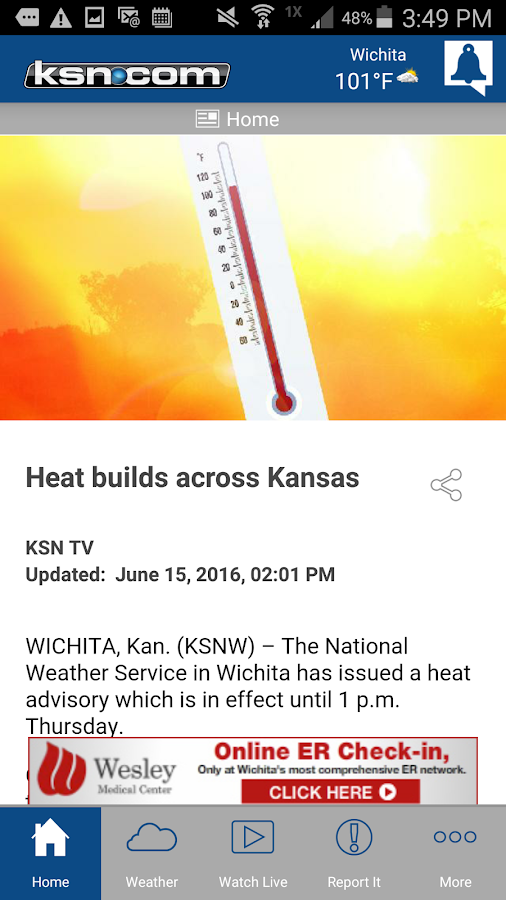 KSN Kansas News and Weather- screenshot