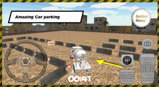 玩模擬App|水泥3D卡车停车场免費|APP試玩