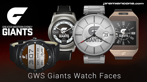 GWS Giants Watch Faces
