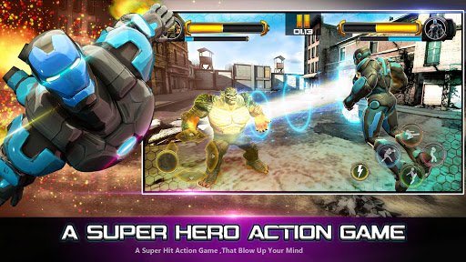 Superhero Fighting Games 3D - War of Infinity Gods 1.0 screenshots 8