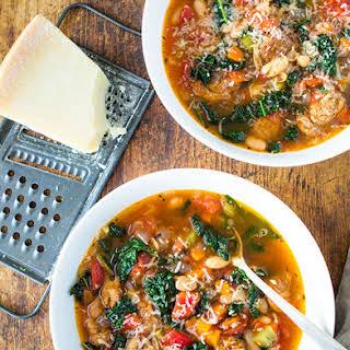 Tuscan Sausage and Kale Stew.