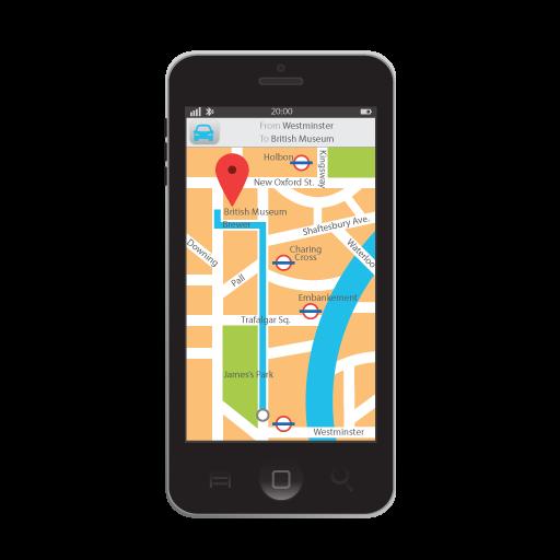 地図、ナビゲーション地図と道順 旅遊 App LOGO-APP試玩