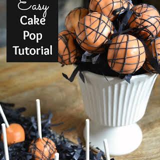 Easy Cake Pop Tutorial.