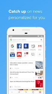 App Opera browser beta APK for Windows Phone