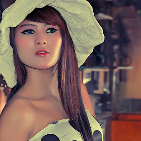 Miss Rinie by Cevi Permana - People Portraits of Women (  )