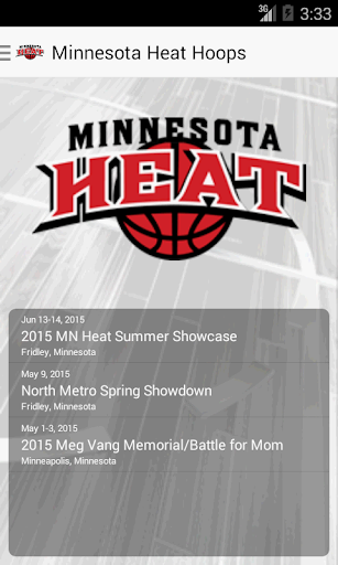 Minnesota Heat Hoops