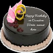 Write Name On cake Birthday