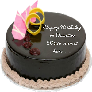 Write Name On cake Birthday - Android Apps on Google Play