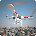 Police Drone Flight Simulator icon