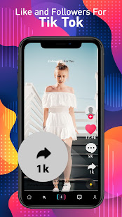 Booster for TikTok - Followers & Likes Booster for PC