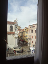 Photo: View from our apartment