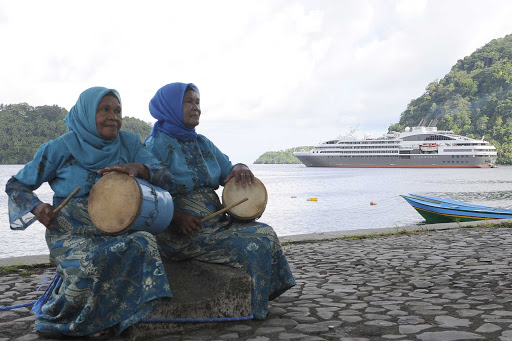 Ponant-Papua-New-Guinea.jpg - See the sights and hear the sounds of Papua New Guinea on a Ponant luxury expedition ship.