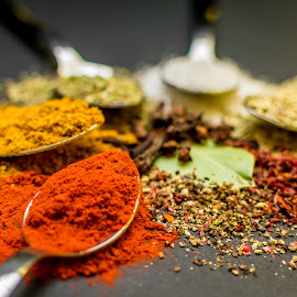 Spices by Andrej Kozelj - Food & Drink Ingredients ( foods, colorful, color, colors, food, spice, spicy, spices )