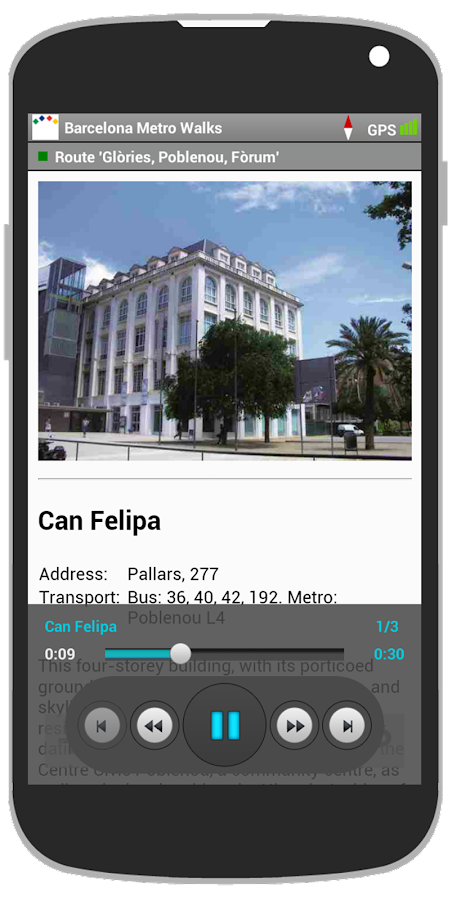 Barcelona Metro Walks - EN- screenshot