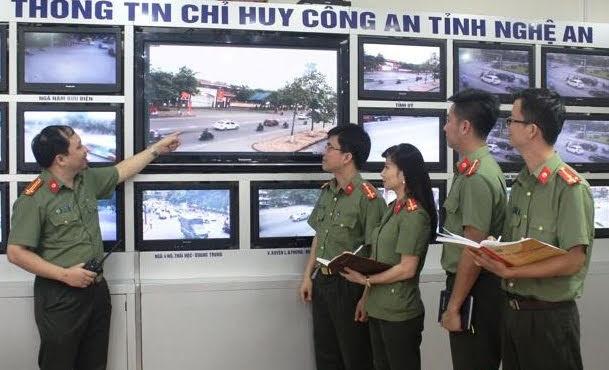 Công an Nghệ An ứng dụng CNTT trong công tác đảm bảo ANTT (Nguồn ảnh: Internet)