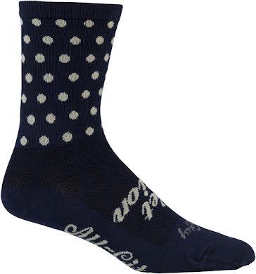 All-City Get Action Wool Sock: Blue/Oatmeal alternate image 1