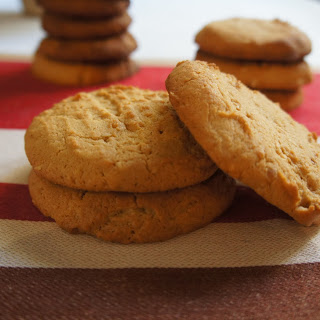 Peanut Butter Biscuits.