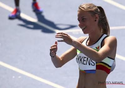 Renée Eykens verrast en plaatst zich met PR voor halve finales
