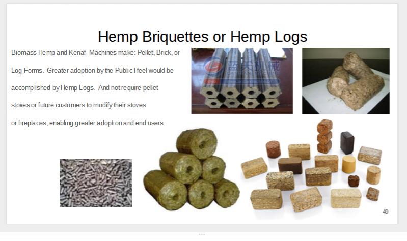 Hemp Biomass Burns Hot and Clean
