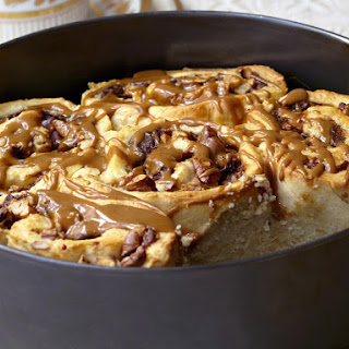Apple and Pecan Coffee Rolls