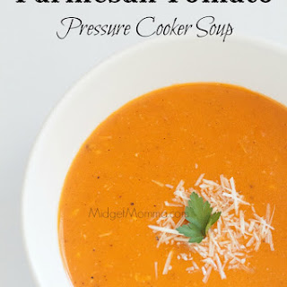 Parmesan Tomato Pressure Cooker Soup.