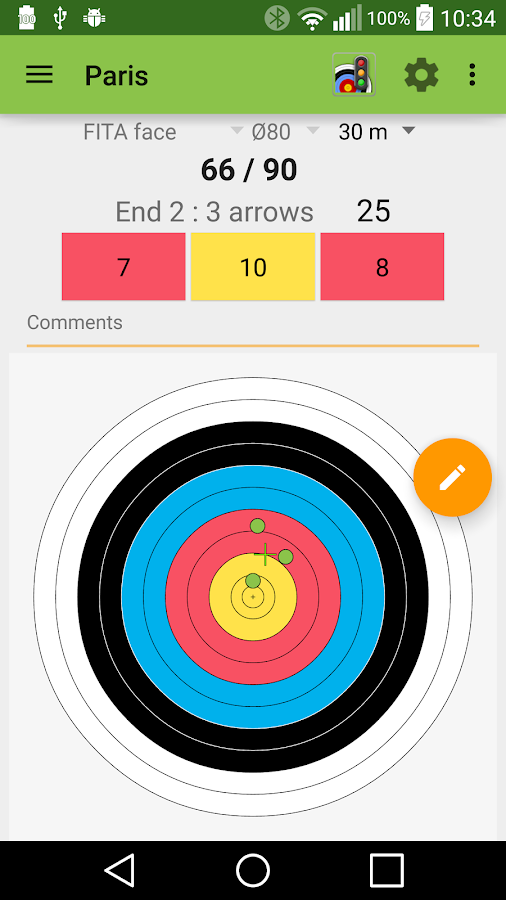 Archery Score- screenshot