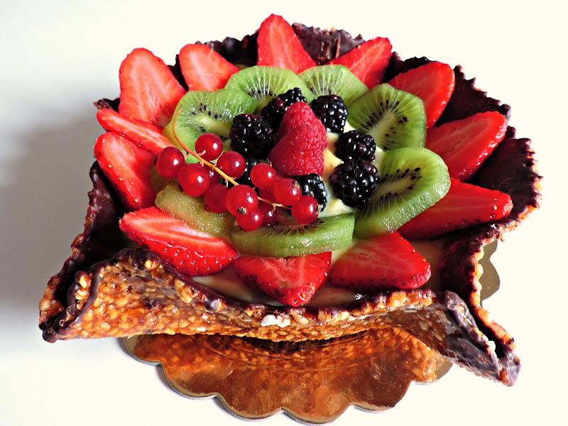 Cestello croccante con frutta di donyb