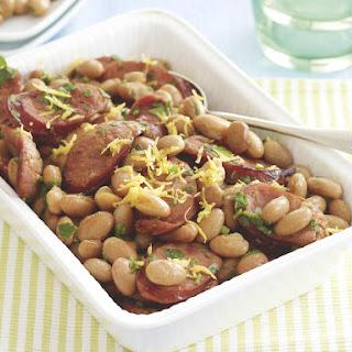 Chorizo Cranberry Beans