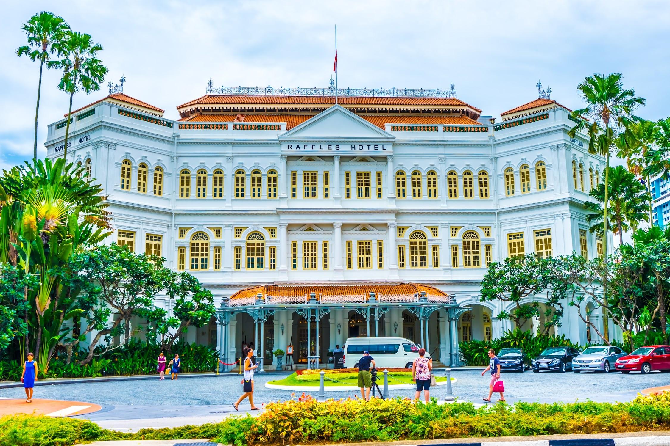 シンガポール ラッフルズ・ホテル2