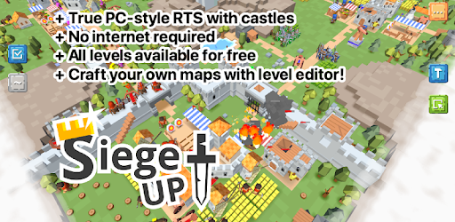 RTS Siege Up! - Medieval MOD APK | Unlimited Resources