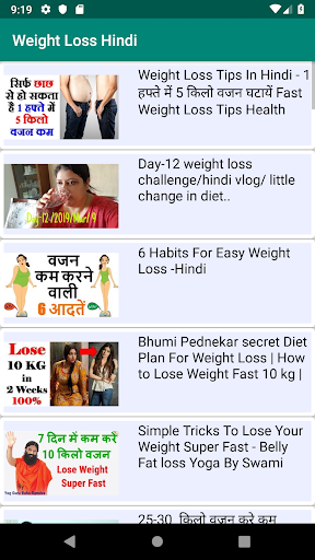 7 day diet plan to lose weight in hindi