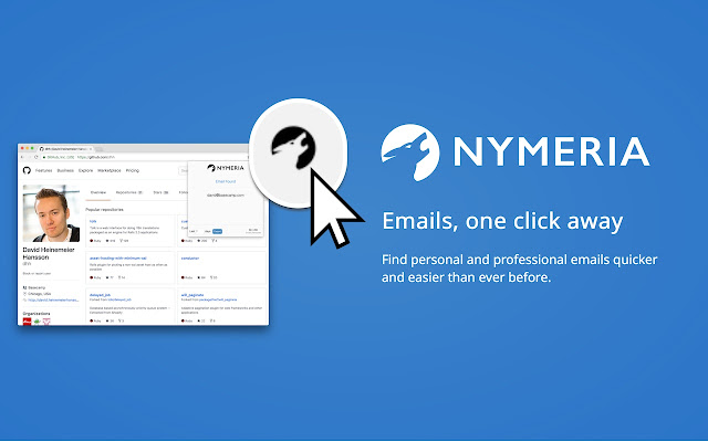 Nymeria: The best personal email finder