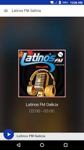 Latinos FM Galicia screenshot 0