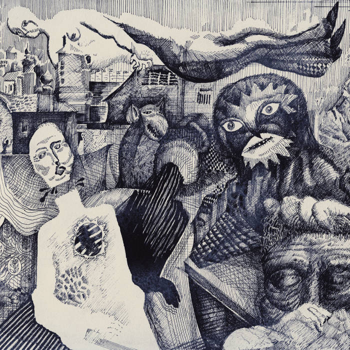 """""""Pale Horses"""" album cover by mewithoutYou"""