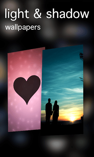 無料个人化Appの光と影の壁紙|記事Game