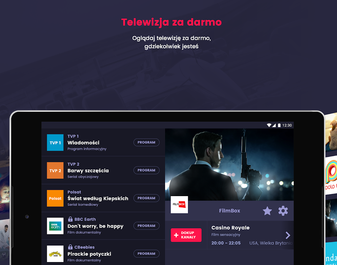 Videostar - kanały TV- screenshot