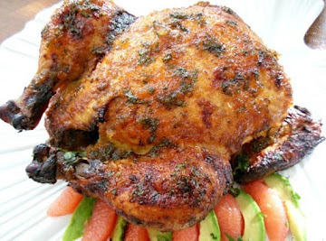 Mexican Grapefruit & Pepper Jelly Roasted Chicken Recipe