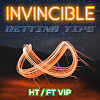 Invincible Betting Tips HT/FT VIP