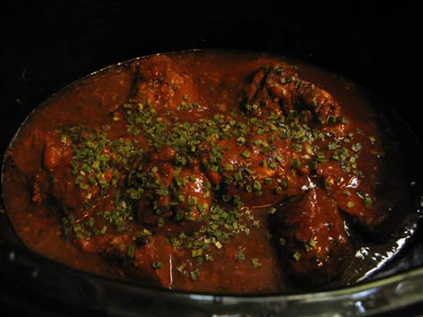 Polly's Crock Pot Apricot Pork Recipe