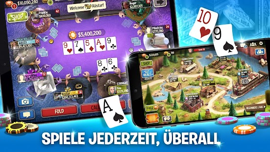 Governor of Poker 3 - Texas Holdem Online Turnier Screenshot