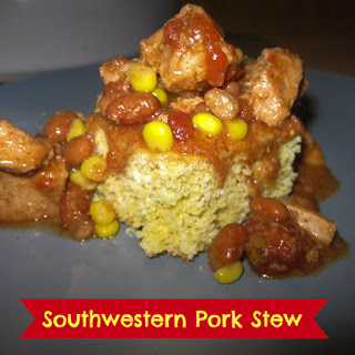 Southwestern Pork Stew in the Slow Cooker