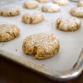 Vegan Creamsicle Coconut Cookies.