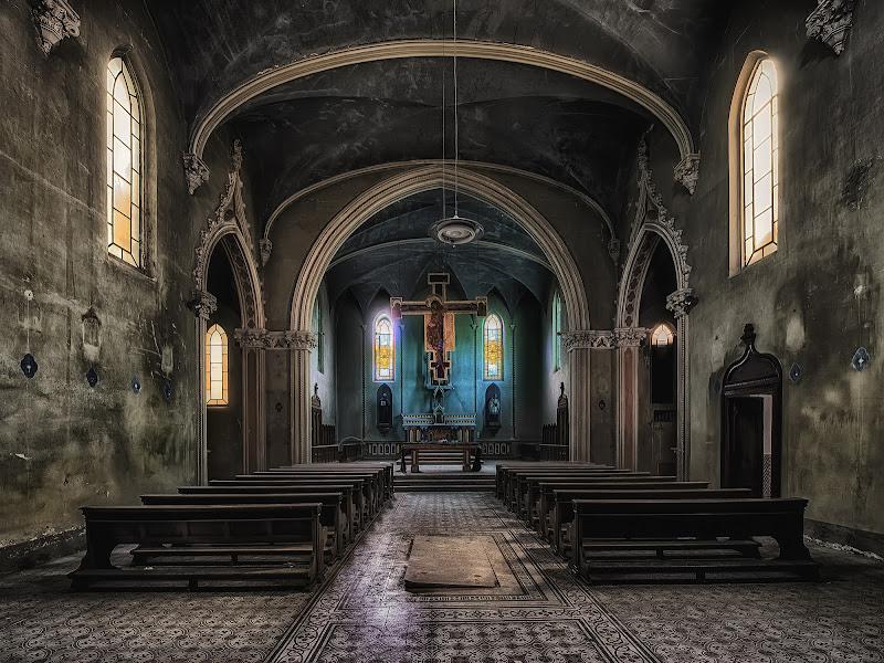 La chiesa blu  di Gianva