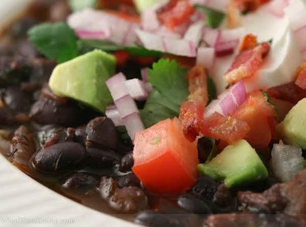 Martys Black Bean Soup/dip Recipe