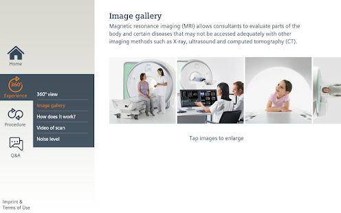 MRI Scan Experience- screenshot thumbnail