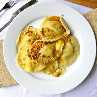 Roast Butternut Squash Ravioli
