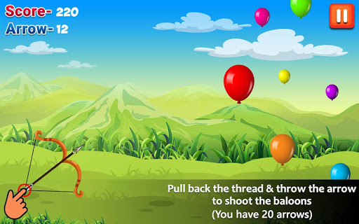 Balloon Shooting : Smash Hit The Rising Up Balloon apkpoly screenshots 1